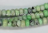 CCO14 15.5 inches 5*8mm rondelle natural chrysotine beads