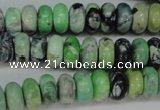 CCO15 15.5 inches 6*10mm rondelle natural chrysotine beads