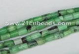 CCO30 15.5 inches 4*6mm column natural chrysotine beads