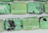 CCO44 15.5 inches 15*20mm rectangle natural chrysotine beads