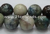CCS03 15.5 inches 16mm round natural chrysocolla gemstone beads