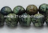 CCS15 15.5 inches 14mm round natural chrysocolla gemstone beads