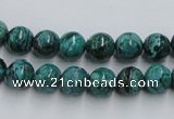CCS203 15.5 inches 8mm round natural Chinese chrysocolla beads