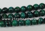 CCS402 15.5 inches 8mm round dyed chrysocolla gemstone beads