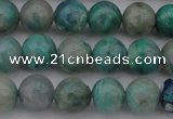 CCS512 15.5 inches 8mm round natural chrysocolla gemstone beads