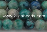 CCS513 15.5 inches 10mm round natural chrysocolla gemstone beads