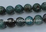 CCS752 15 inches 8mm round chrysocolla gemstone beads wholesale