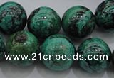 CCS803 15.5 inches 10mm round natural Chinese chrysocolla beads
