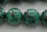 CCS805 15.5 inches 14mm round natural Chinese chrysocolla beads