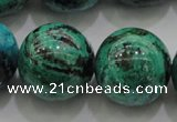 CCS807 15.5 inches 18mm round natural Chinese chrysocolla beads