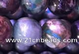 CCS861 15.5 inches 12mm round natural chrysocolla beads wholesale