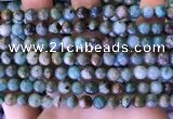 CCS888 15 inches 6mm round natural chrysocolla beads wholesale