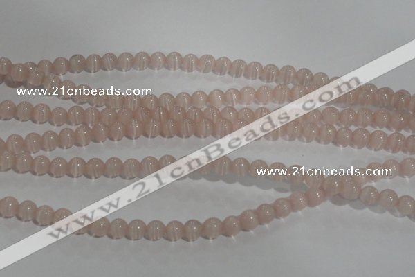 CCT1202 15 inches 4mm round cats eye beads wholesale