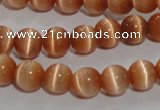 CCT1265 15 inches 5mm round cats eye beads wholesale