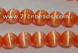 CCT1270 15 inches 5mm round cats eye beads wholesale