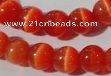 CCT1324 15 inches 6mm round cats eye beads wholesale