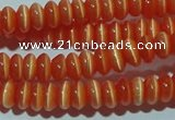 CCT216 15 inches 2*4mm rondelle cats eye beads wholesale
