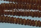 CCT217 15 inches 2*4mm rondelle cats eye beads wholesale