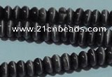 CCT219 15 inches 2*4mm rondelle cats eye beads wholesale