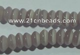 CCT233 15 inches 3*6mm rondelle cats eye beads wholesale