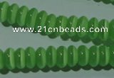 CCT243 15 inches 3*6mm rondelle cats eye beads wholesale
