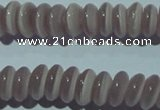 CCT260 15 inches 3*7mm rondelle cats eye beads wholesale