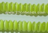 CCT262 15 inches 3*7mm rondelle cats eye beads wholesale