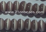 CCT273 15 inches 5*8mm rondelle cats eye beads wholesale