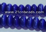 CCT288 15 inches 5*8mm rondelle cats eye beads wholesale