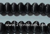 CCT297 15 inches 5*8mm rondelle cats eye beads wholesale