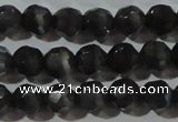 CCT369 15 inches 6mm faceted round cats eye beads wholesale