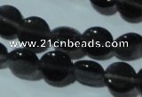 CCT470 15 inches 6mm flat round cats eye beads wholesale