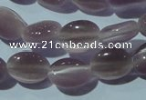 CCT641 15 inches 6*8mm oval cats eye beads wholesale