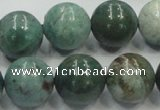 CDB03 15.5 inches 16mm round natural new dragon blood jasper beads