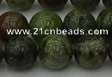 CDB305 15.5 inches 14mm round dragon blood jasper beads wholesale