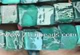 CDE1216 15.5 inches 6mm - 6.5mm cube sea sediment jasper beads