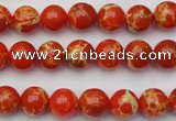 CDE2001 15.5 inches 6mm round dyed sea sediment jasper beads