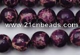 CDE2048 15.5 inches 12mm round dyed sea sediment jasper beads