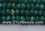 CDE2672 15.5 inches 5*8mm rondelle dyed sea sediment jasper beads