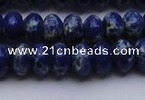 CDE2684 15.5 inches 12*16mm rondelle dyed sea sediment jasper beads