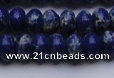 CDE2685 15.5 inches 13*18mm rondelle dyed sea sediment jasper beads