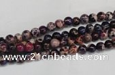 CDE360 15.5 inches 4mm round dyed sea sediment jasper beads