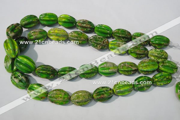 CDE930 15.5 inches 15*23mm star fruit shaped dyed sea sediment jasper beads
