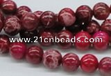 CDI03 16 inches 8mm round dyed imperial jasper beads wholesale
