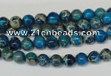 CDI265 15.5 inches 6mm round dyed imperial jasper beads
