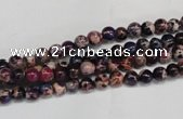 CDI360 15.5 inches 4mm round dyed imperial jasper beads