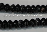 CDI686 15.5 inches 6*10mm rondelle dyed imperial jasper beads