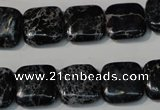 CDI692 15.5 inches 14*14mm square dyed imperial jasper beads