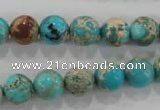 CDI803 15.5 inches 10mm round dyed imperial jasper beads wholesale