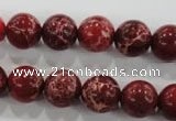 CDI823 15.5 inches 10mm round dyed imperial jasper beads wholesale